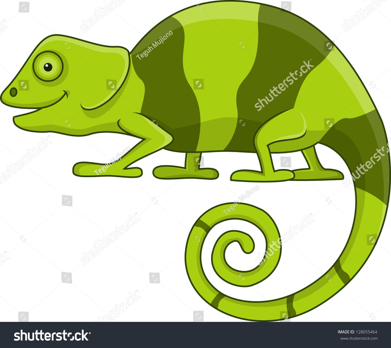 变色龙的卡通-动物/野生生物-海洛创意(hellorf)