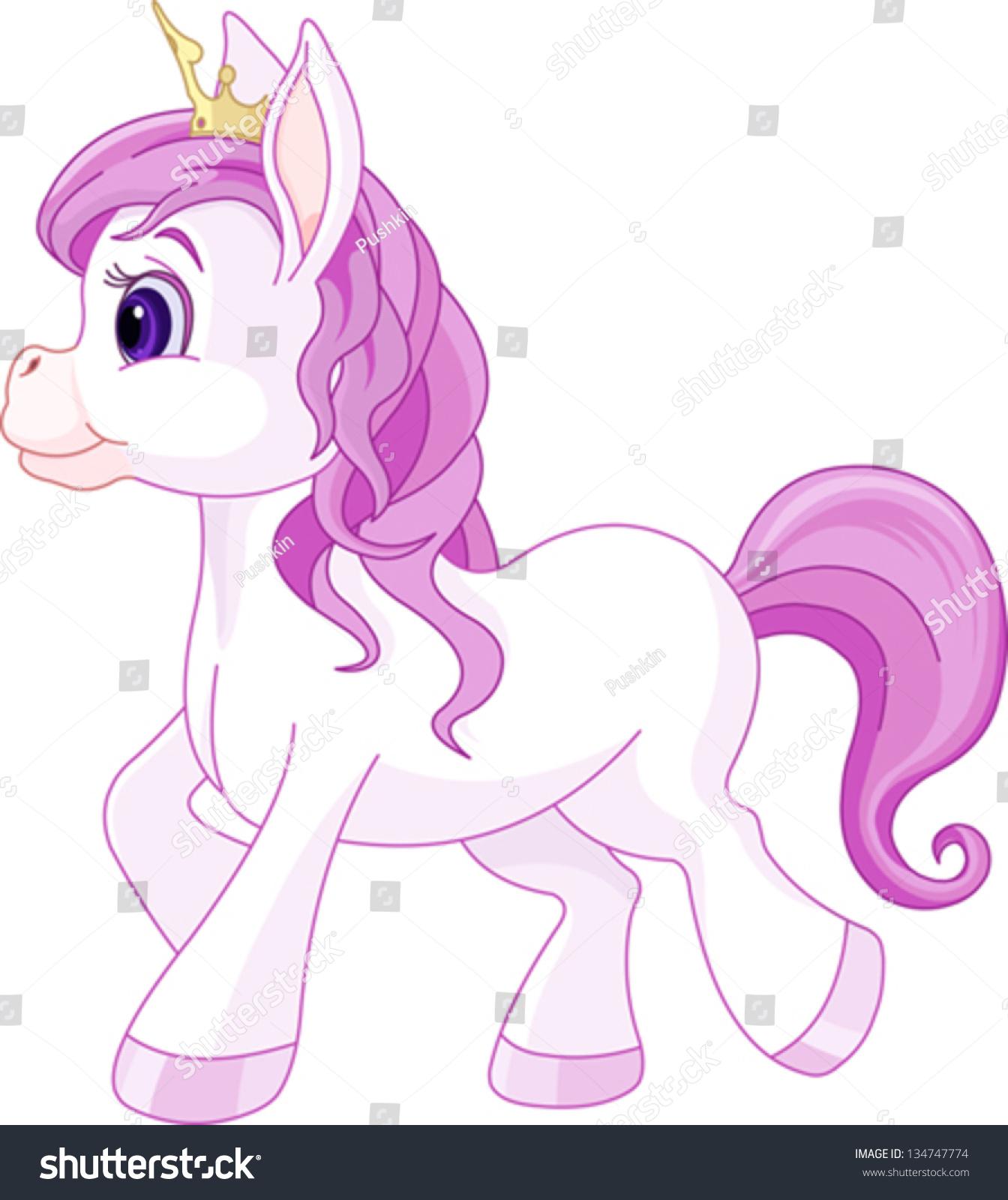 可爱的马走公主-动物/野生生物