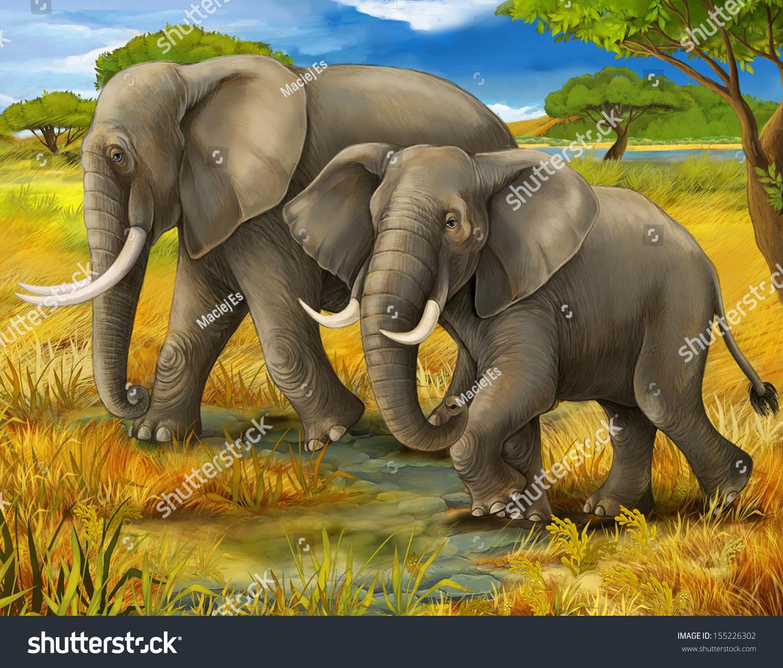 大象 动物 1500_1278
