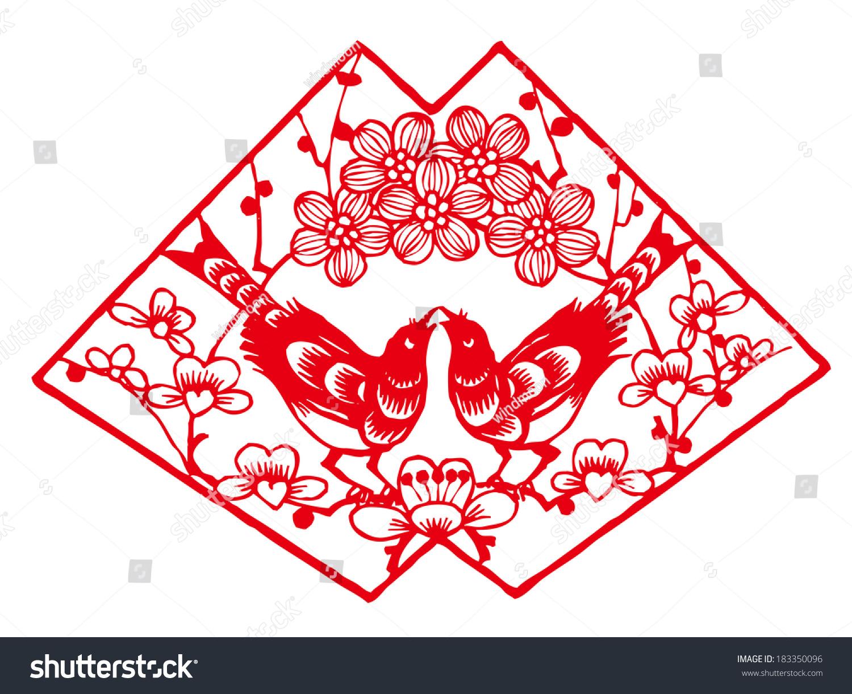 喜鹊和梅花设计-动物/野生生物-海洛创意()