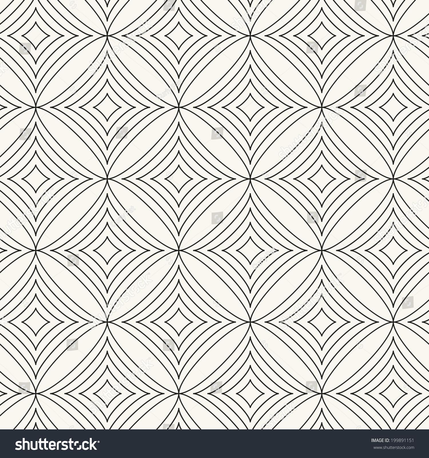无缝的菱形图案.向量抽象背景.时尚的细胞结构