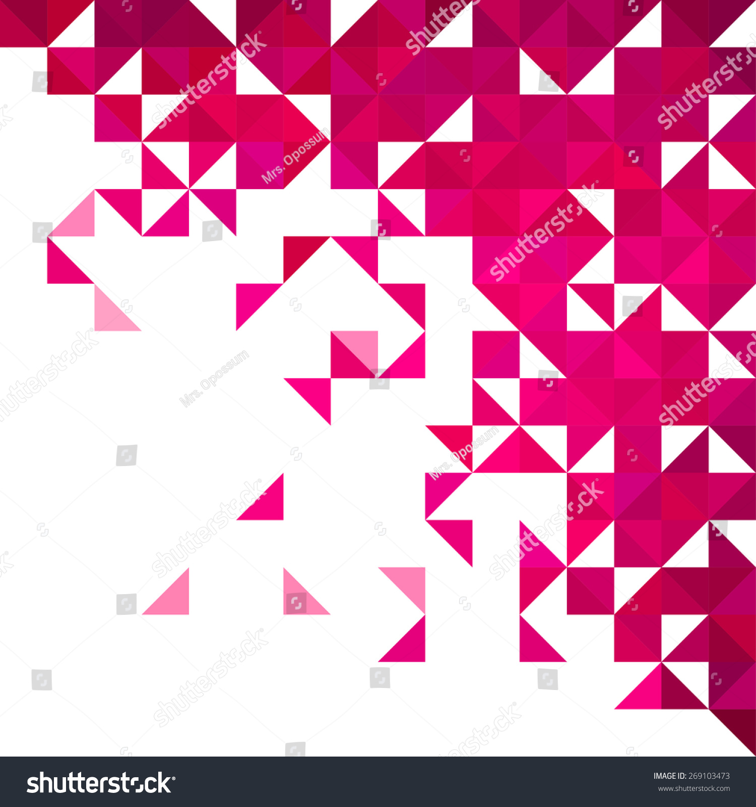 ppt背景花纹三角形图片素材