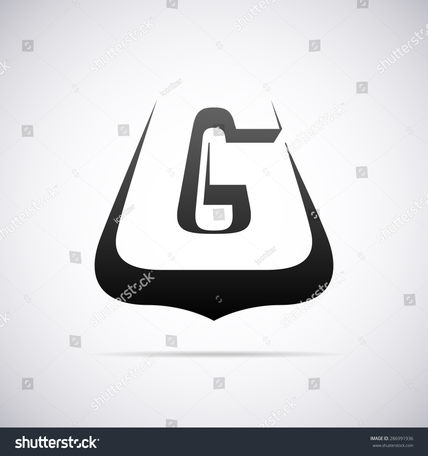 创意英文字母微信头像m