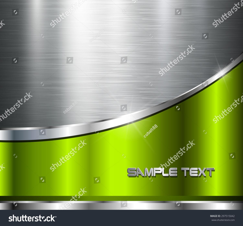 金属抛光钢结构背景,向量的设计