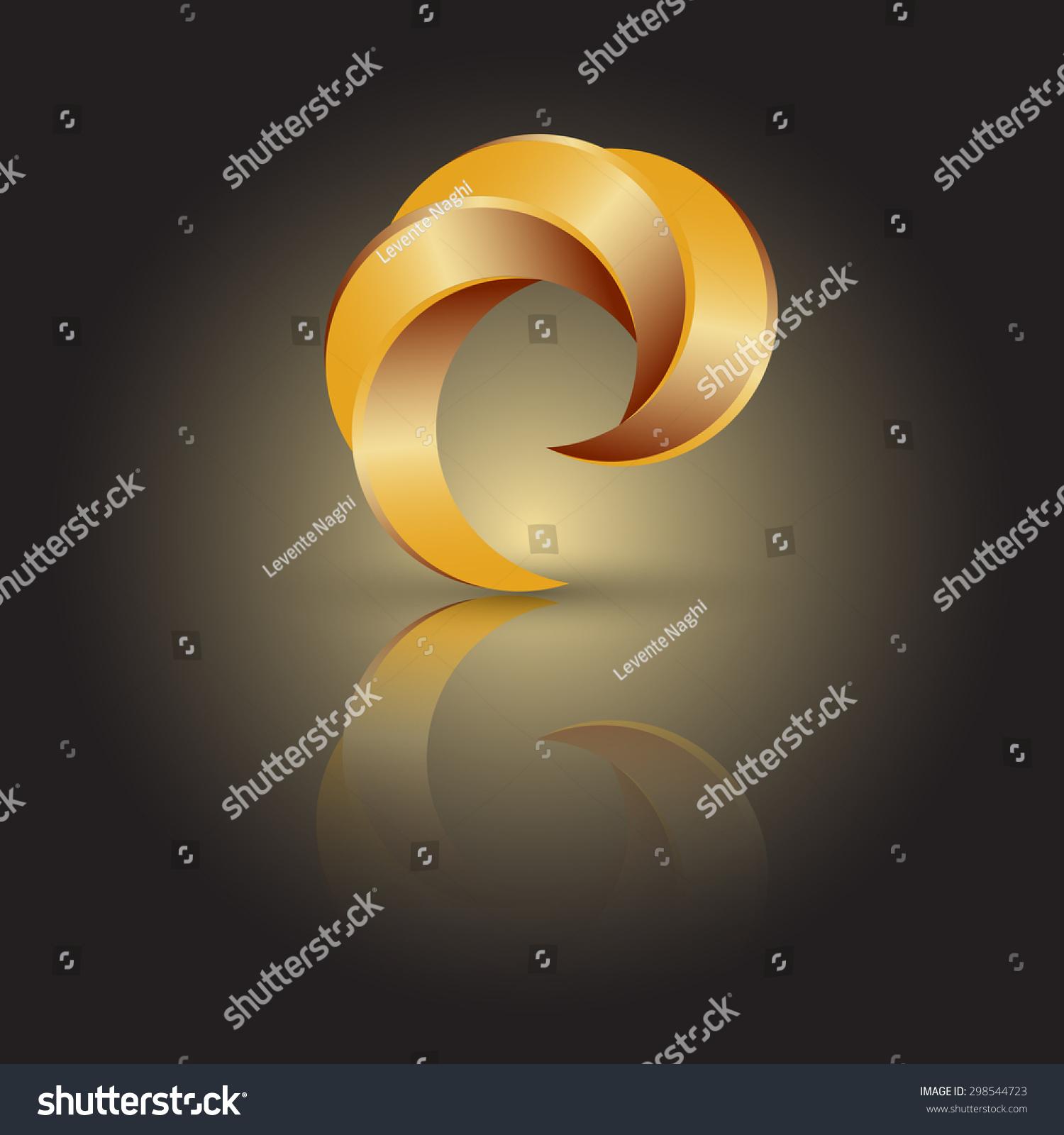 矢量图的标志看起来像一个爪