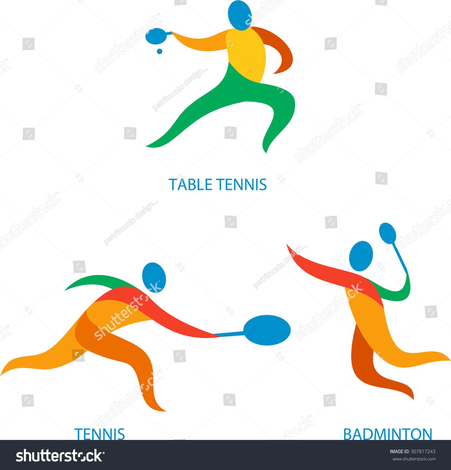 乒乓球和羽毛球运动中的运动