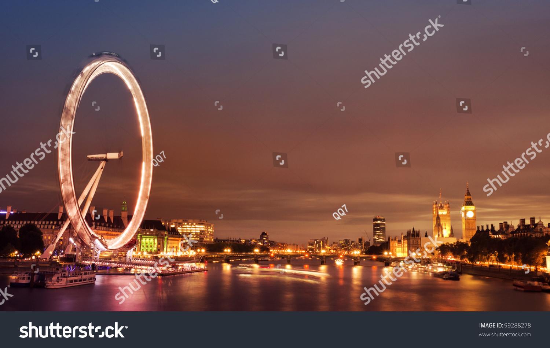 伦敦眼,县厅,威斯敏斯特大桥